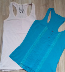 2 majice  nova Bershka M