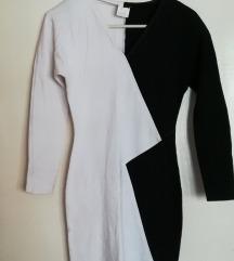 Crno-bela haljina