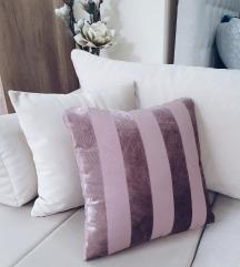 Handmade roze jastuk