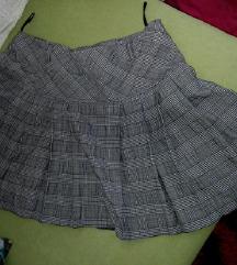 Siva suknja A kroj