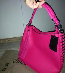 Velika roze torba sa malim neseserom