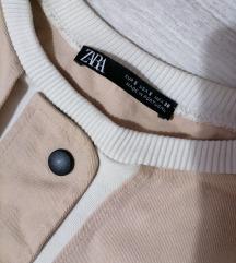 Zara crop duks
