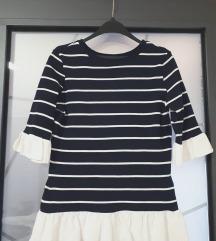 Orsay bluza, tamno teget sa karnerima, SNIŽENA 450