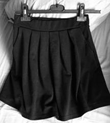 Crna leprsava FB Sister suknja, RASPRODAJA 600