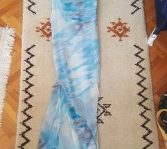 Hepening haljina plava
