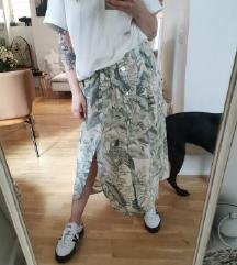 Nova Reserved suknja sa neznim floral printom