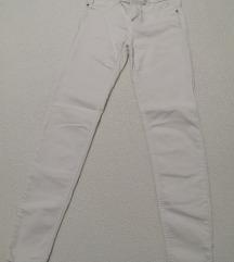 Bershka bele pantalone