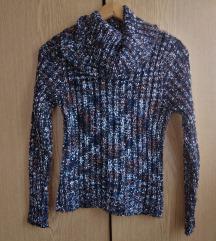 Pletena rolka džemper