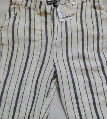 Prugaste letnje pantalone