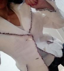 Sako jakna apriori, bela