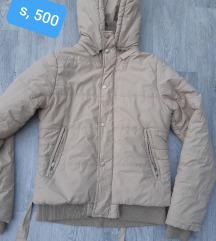 Zimska jakna krem