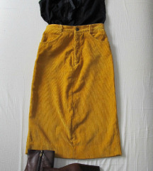 Dubokog struka, vintage suknja XS/S  SNIŽENA!
