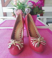 Crvene cipele sa masnom /40