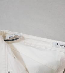 Dior original zenske pantalone bele tri cetvrt 7/8