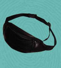 Crna eko kozna pederusa - torbica