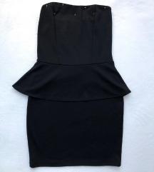 Crna svecana haljina kao nova