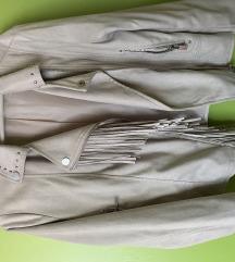 MANGO M casual jaknica sa resama i nitnama