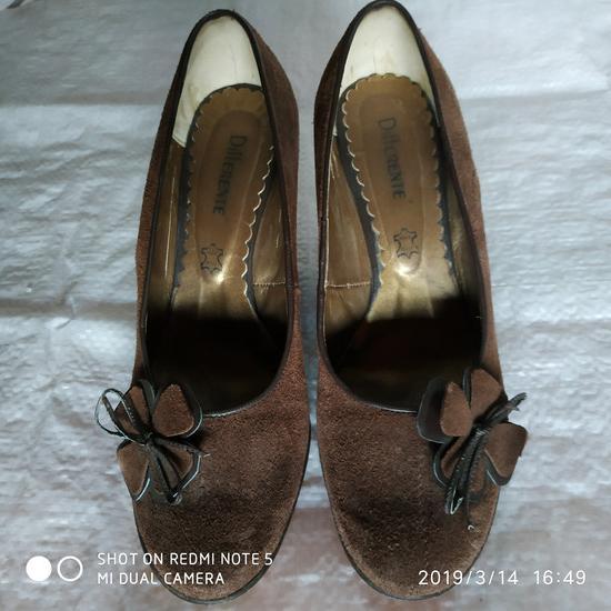 Braon smeđe cipele salonke 38/39