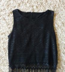 NewYorker crna majica sa resama