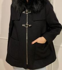 ZARA crni kratki kaputić