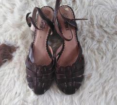 Retro kožne sandalice