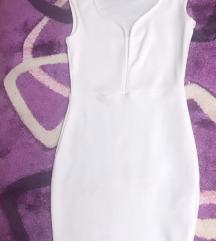 Amisu haljina bela