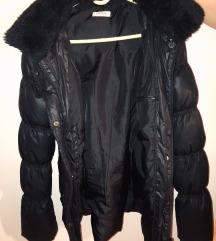 Duga perjana jakna crne boje - Orsay