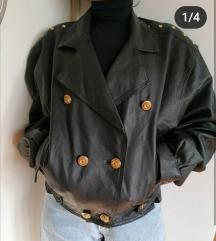 Vintage kozna jakna