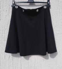 Suknja A-kroj sa rupama za kaiš