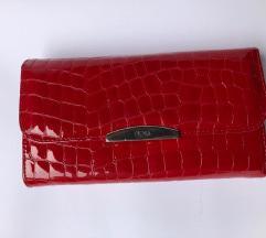 Crveni MONA Ženski Novčanik
