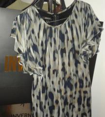 Nova MANGO leopard svilena haljina, bila 5000