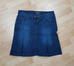 Original Esprit teksas suknja