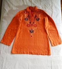 Indijska bluza ručno vezena RED STORE br. 38