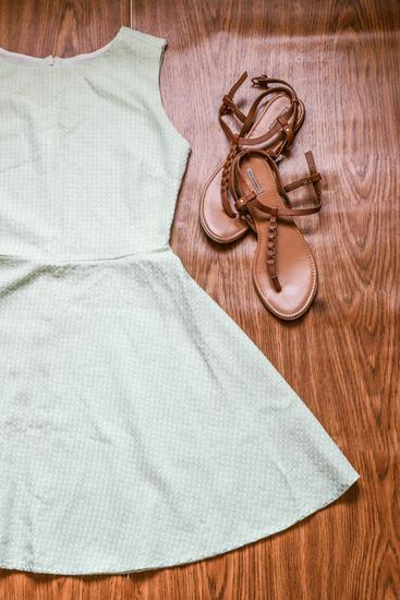 Nova Letnja haljina - Bejbi zelena