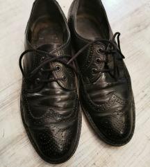 crne vintage muške cipele 44