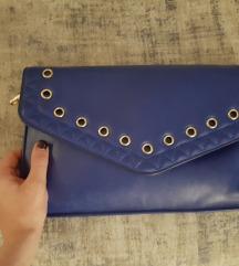 Plava pismo torba tasna