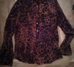 Muslin leopard bluza