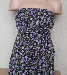 Cvetna top haljina vel XS/S