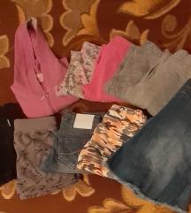 Paket stvari za devojcicu od 9-10god