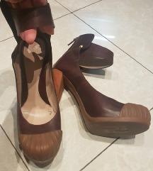 FENDI original - rubber toe cap heels 38