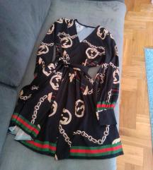Letnja haljina na V izrez S
