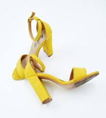 ❤️ Lusso  * 38 * Prelepe žute sandale