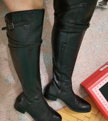 KOZNE cizme crne