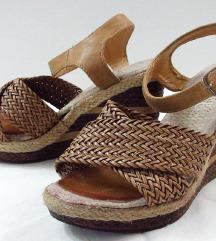 Pletene sandale za sire stoplao 37.5