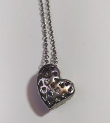 Ogrlica srce/POKLON