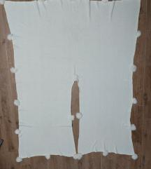 Novo - Beli/krem ponco (univerzalna velicina)