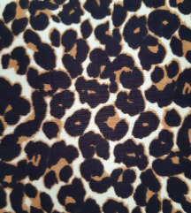 Animal print bluza
