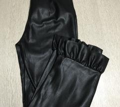 Zara kožne pantalone