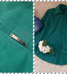 ESPRIT smaragdno zelena kosulja 😻