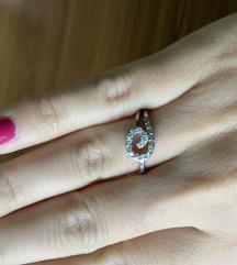 Srebrni prsten - pravo srebro